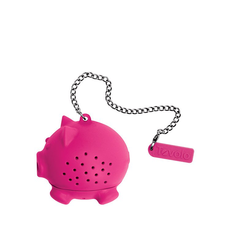 Tovolo Novelty Silicone Tea Infuser Pig