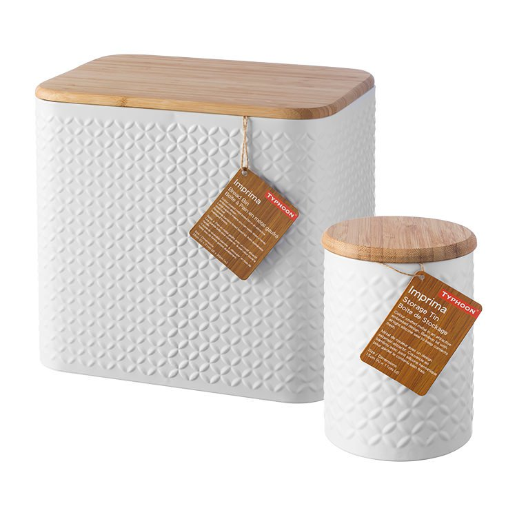 Typhoon Imprima Bread Bin w/ Bonus Storage Jar
