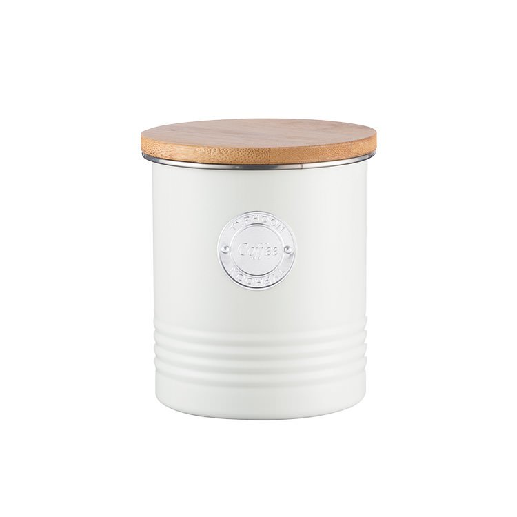 Typhoon Living Coffee Canister 1L Cream