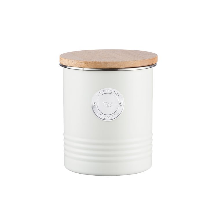 Typhoon Living Tea Canister 1L Cream
