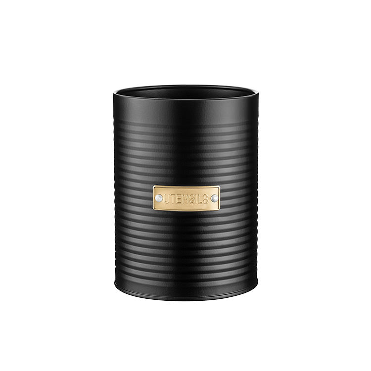 Typhoon Otto Utensil Pot 15x11cm Black