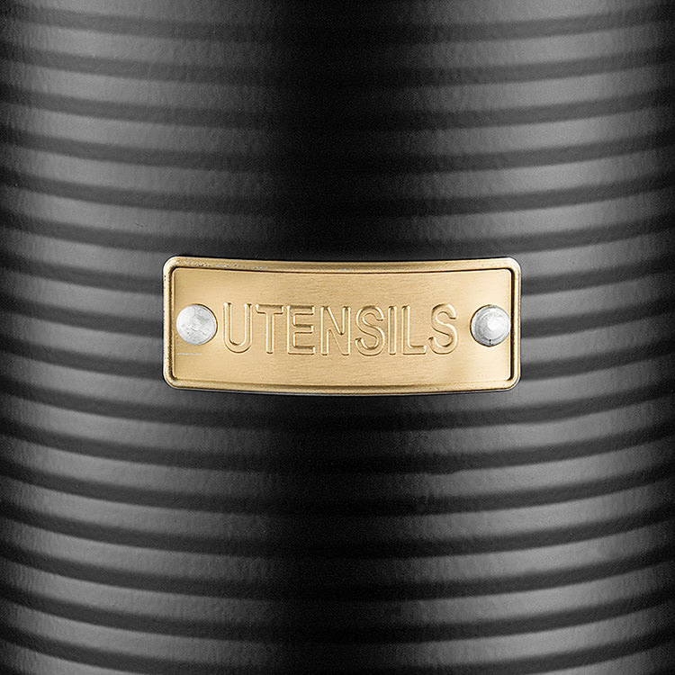 Typhoon Otto Utensil Pot 15x11cm Black