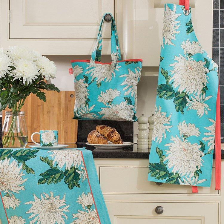 Ulster Weavers RHS Chrysanthemum Linen Tea Towel