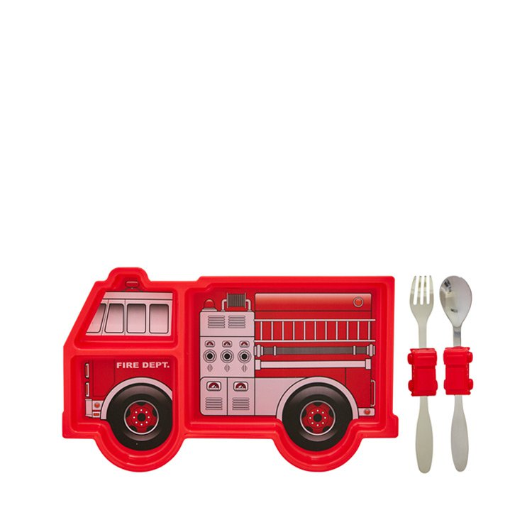 Urban Trend Me Time Meal Set Fire Engine