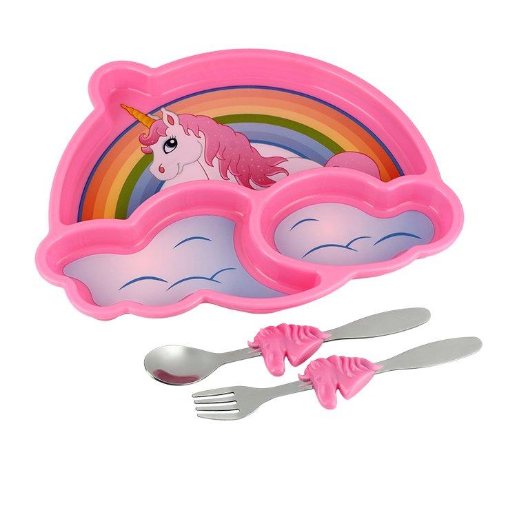 Urban Trend Me Time Meal Set Unicorn