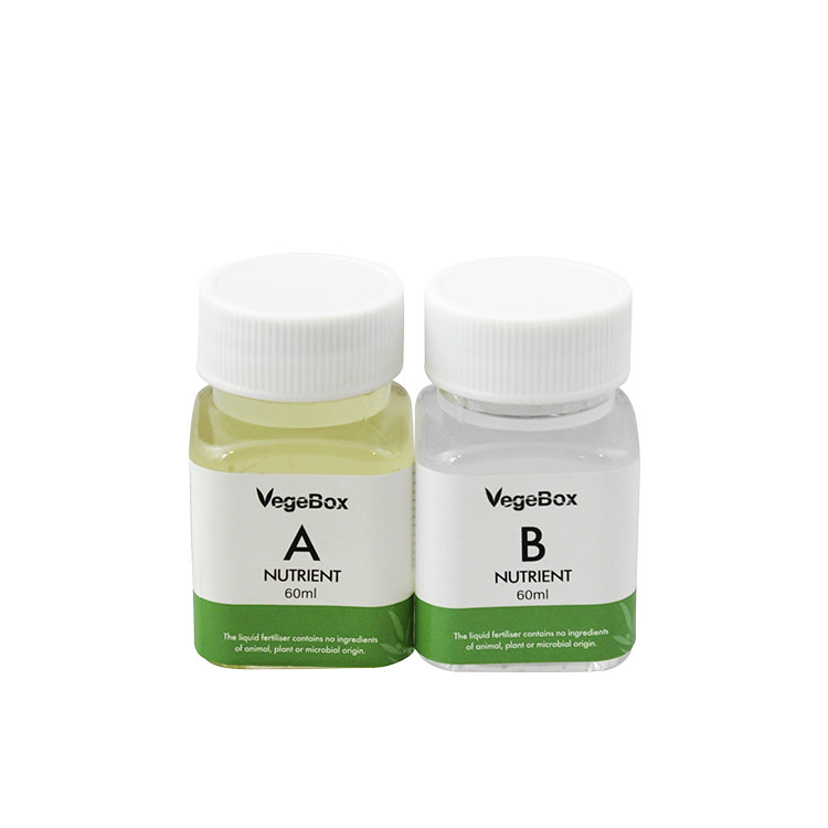 VegeBox A & B Nutrient Solution 60ml Set