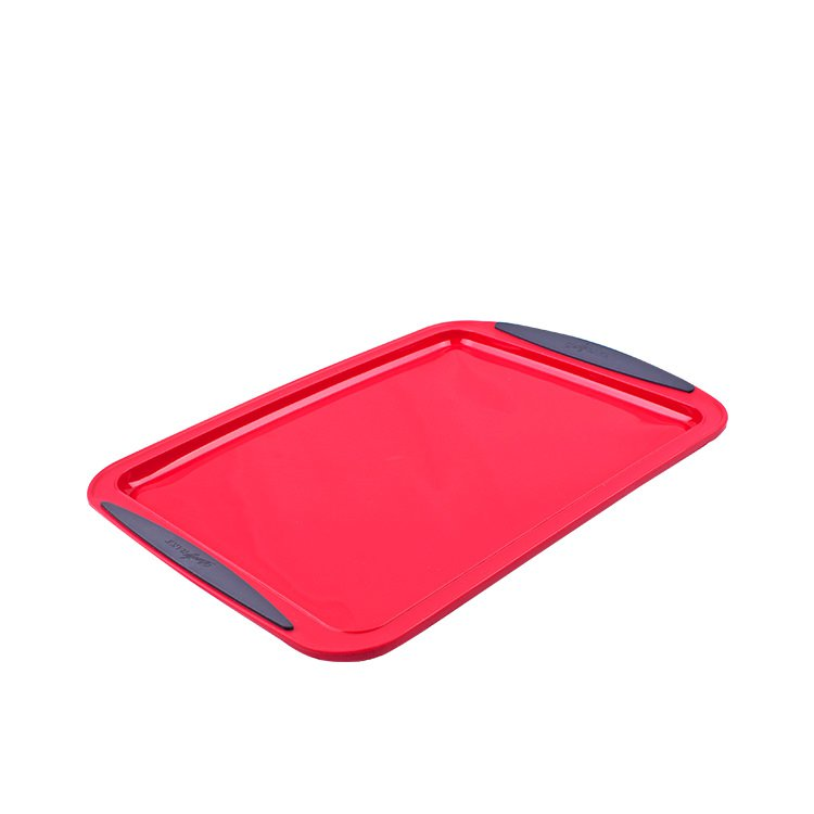 Daily Bake Silicone Baking Tray 30x22cm Red