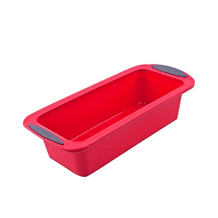 Daily Bake Silicone Loaf Pan 24x10cm Red