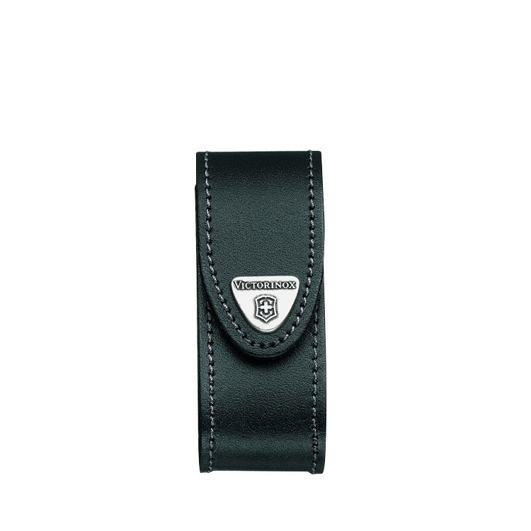 Victorinox Black Leather Sheath 2-4 Layers