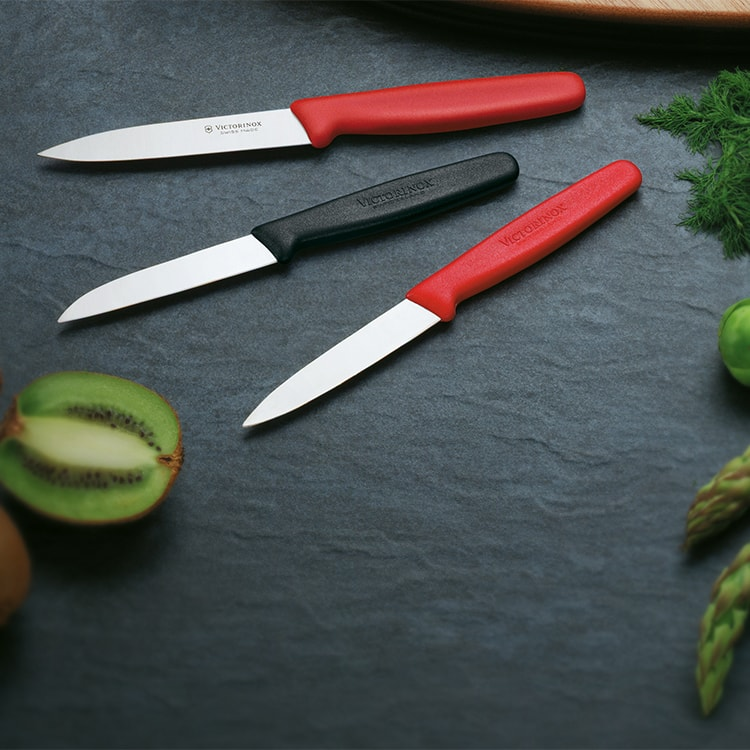 Victorinox Pointed Tip Vegetable Knife 10cm Red