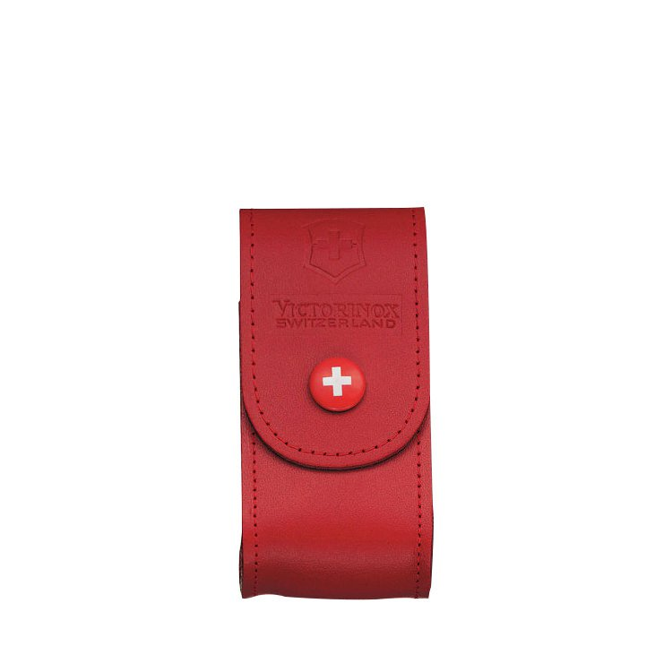 Victorinox Red Leather Sheath 5-8 Layers