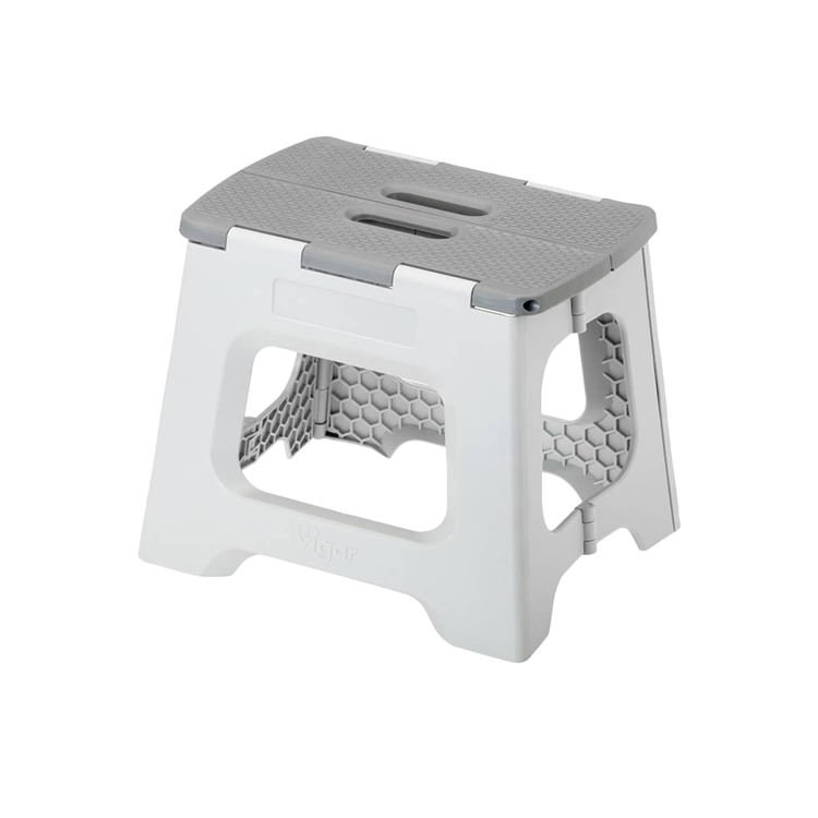 Vigar Foldable Stool 23cm Grey