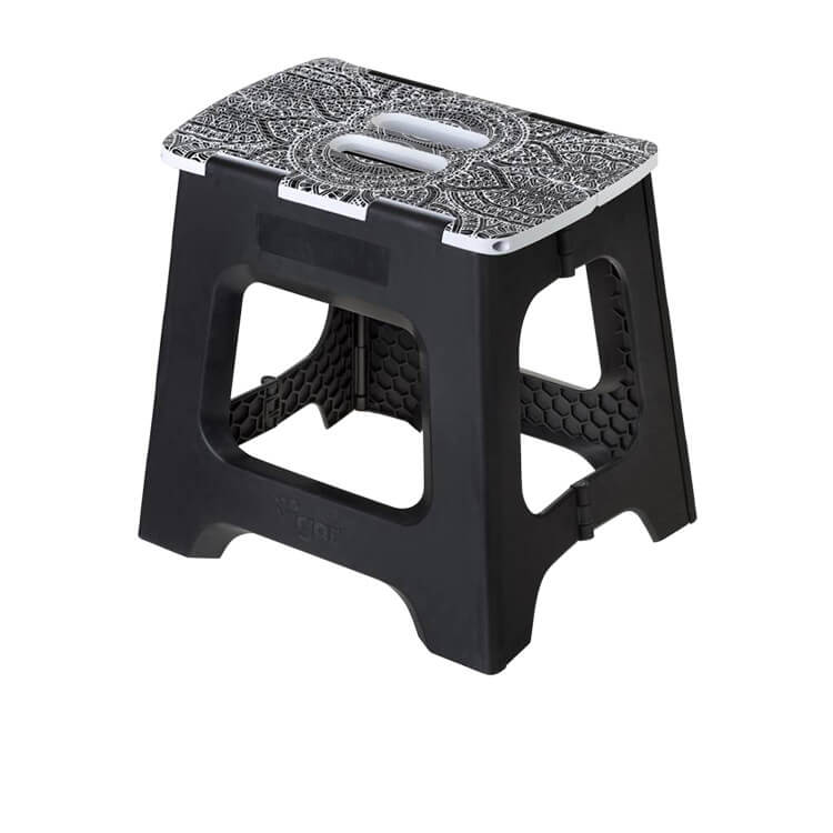Vigar Foldable Stool 32cm Black Opera