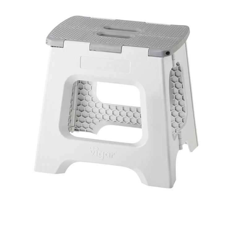 Vigar Foldable Stool 32cm Grey