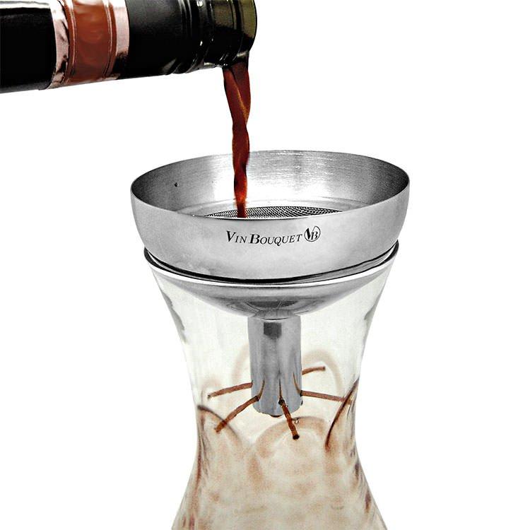 Vin Bouquet Decanter Funnel