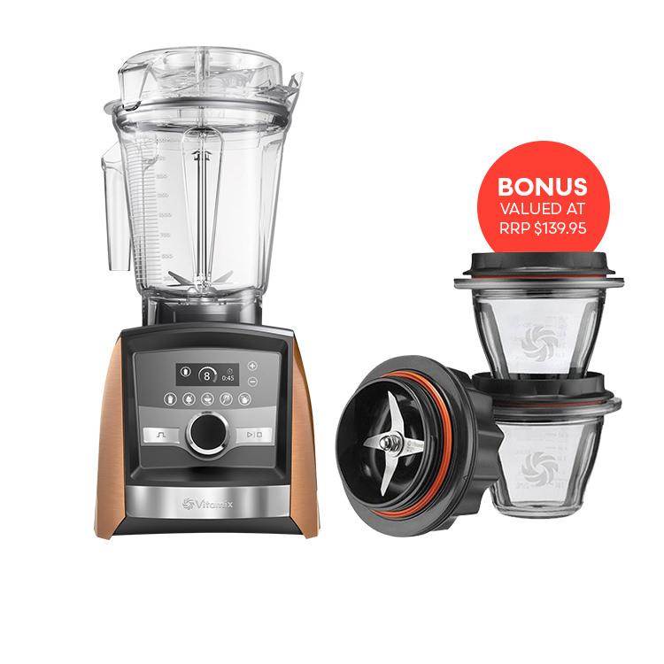 Vitamix Ascent 3500i Blender Copper w/ bonus Starter Kit