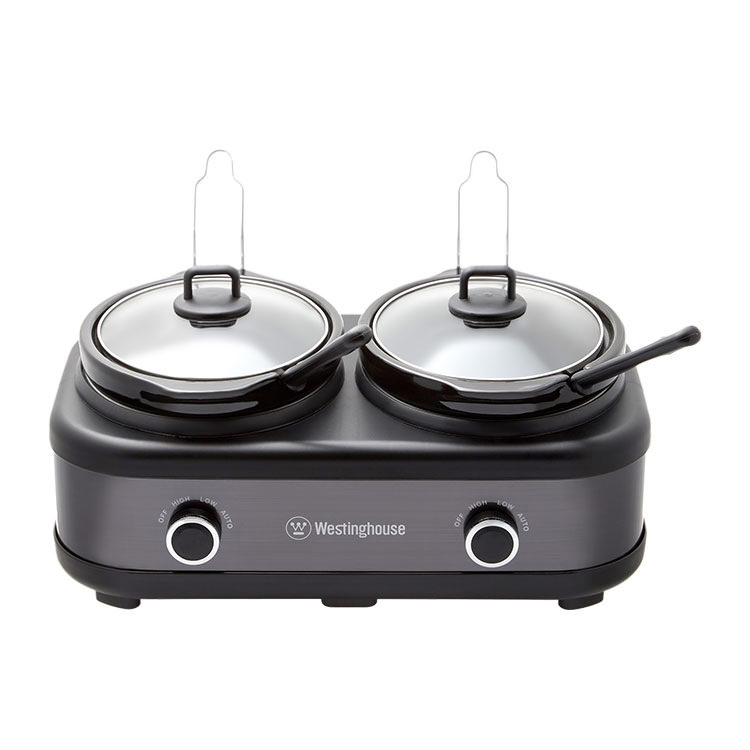 Westinghouse 2 Pot Slow Cooker 2.5L