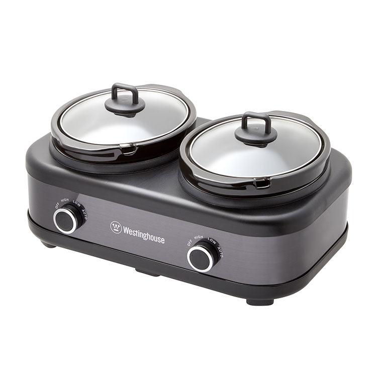 Westinghouse 2 Pot Slow Cooker 2.5L image #2