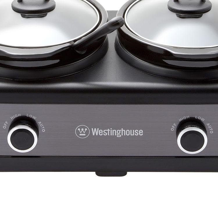 Westinghouse 2 Pot Slow Cooker 2.5L