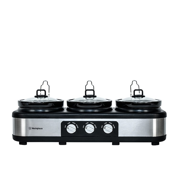 Westinghouse 3 Pot Slow Cooker 2.5L
