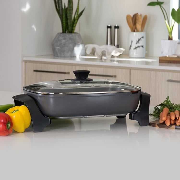 Westinghouse Electric Frypan Grey