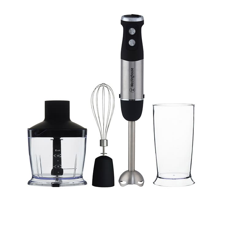 Westinghouse Stainless Steel Stick Mixer 800W Speed Control