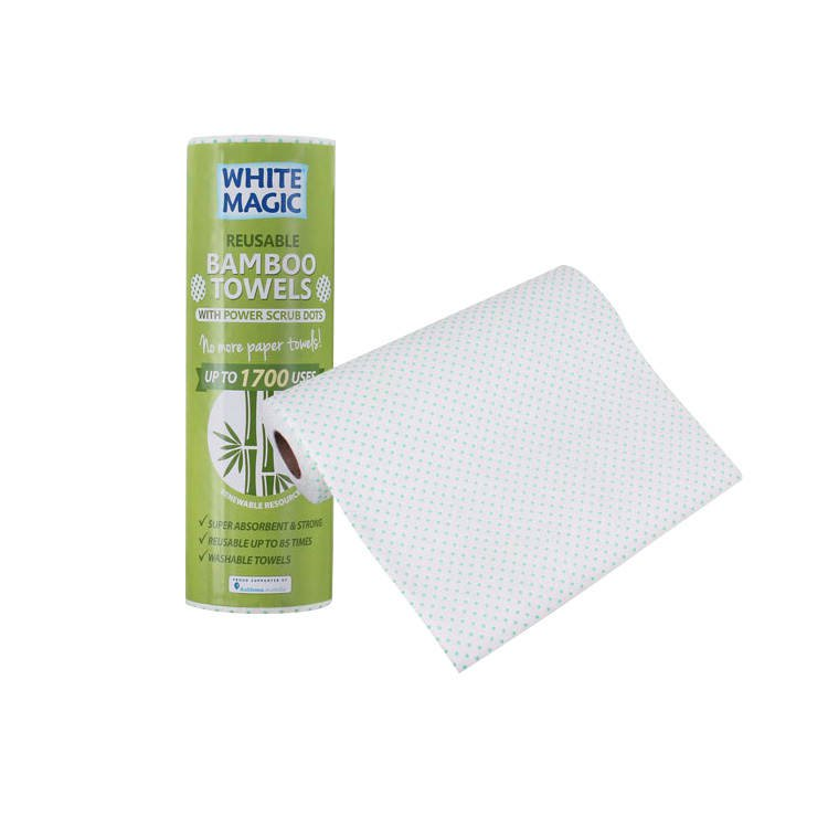 White Magic Bamboo Towels 20 Pack