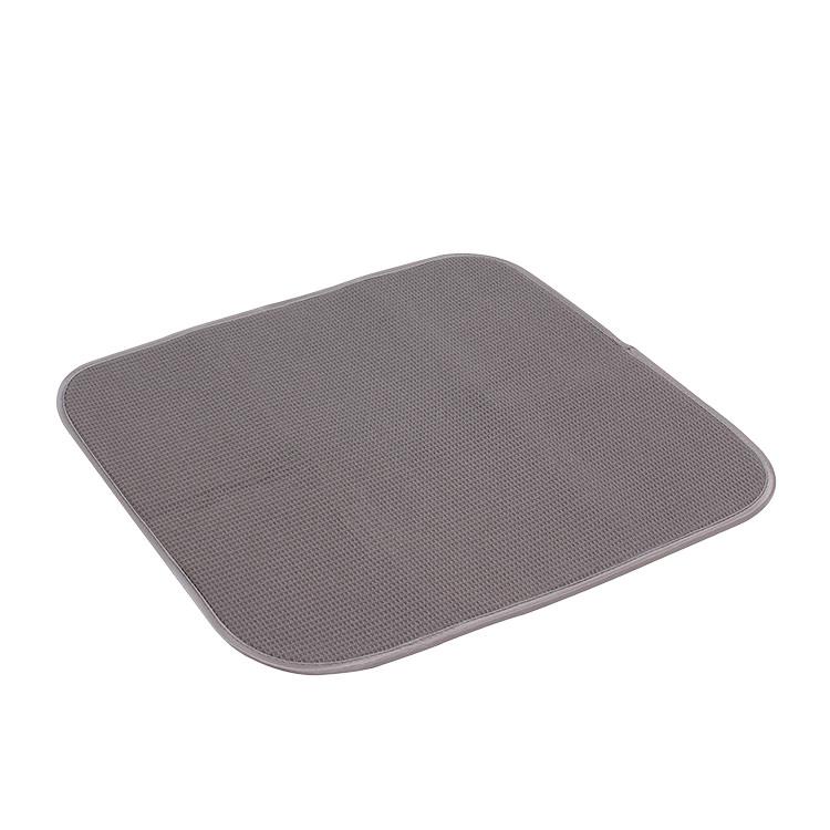 White Magic Eco Cloth Dish Drying Mat Charcoal