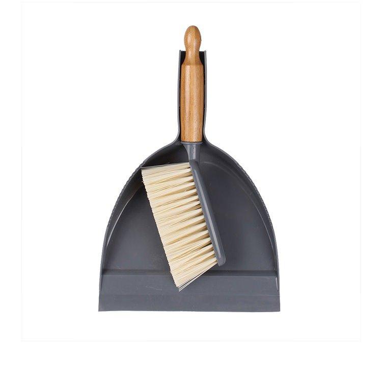 White Magic Eco Basics Dustpan & Brush Set