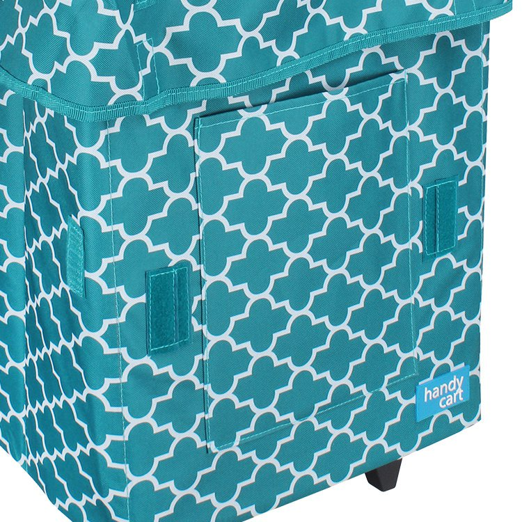 White Magic Handy Cart Jumbo Moroccan Tiffany