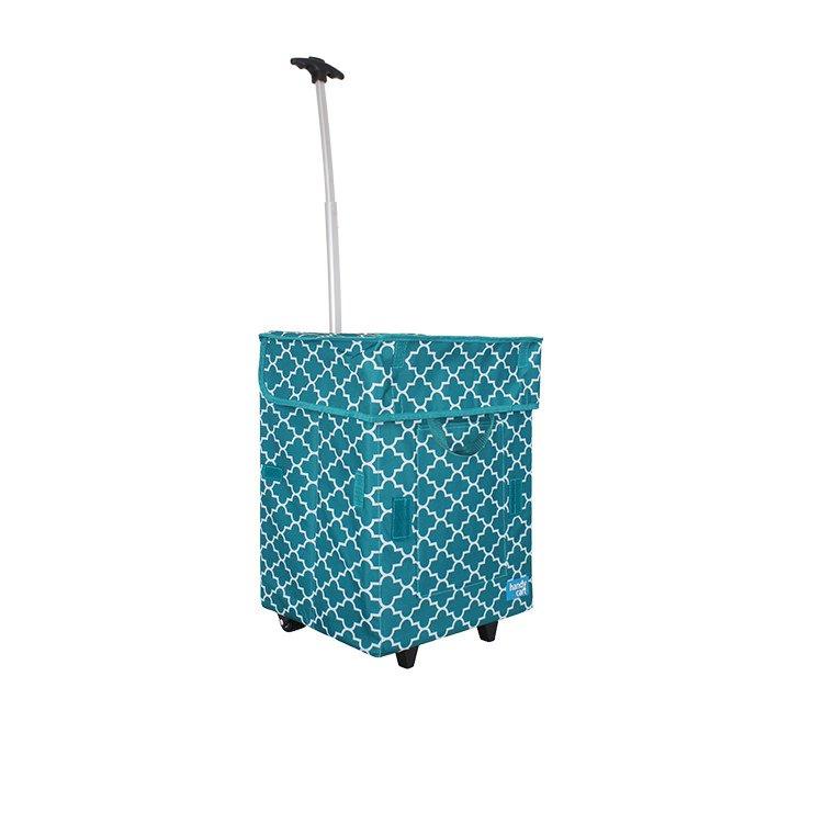 White Magic Handy Cart Moroccan Tiffany