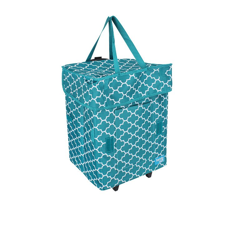 White Magic Handy Cart Moroccan Tiffany