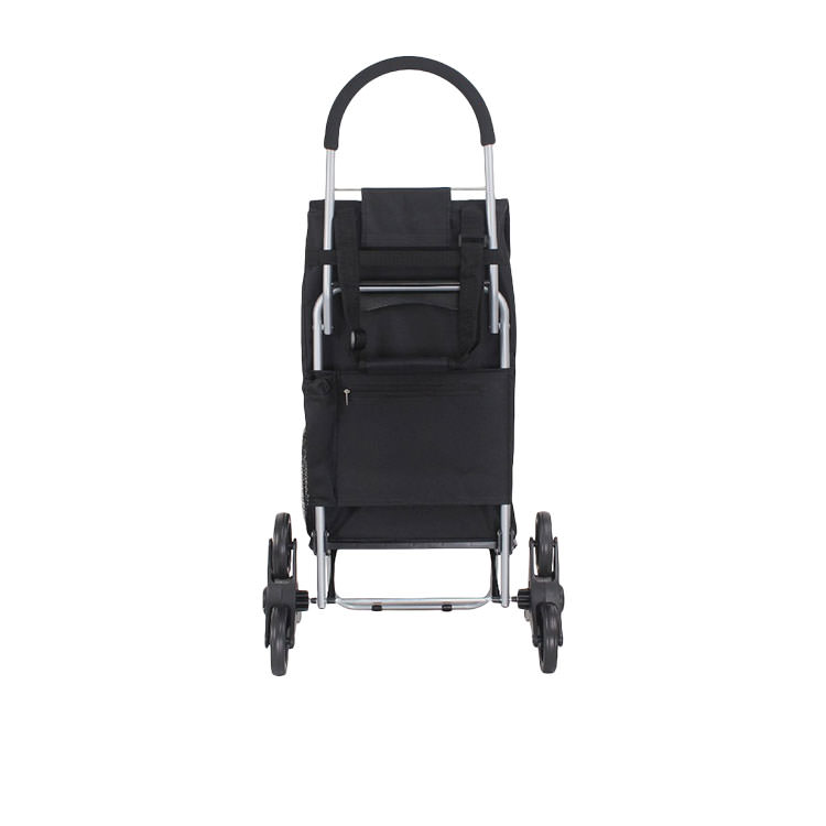 White Magic Handy Trolley with Climbing Wheels Black