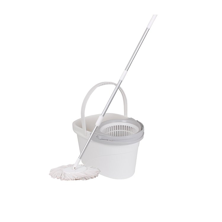 White Magic Pure Spin Mop Hand Press