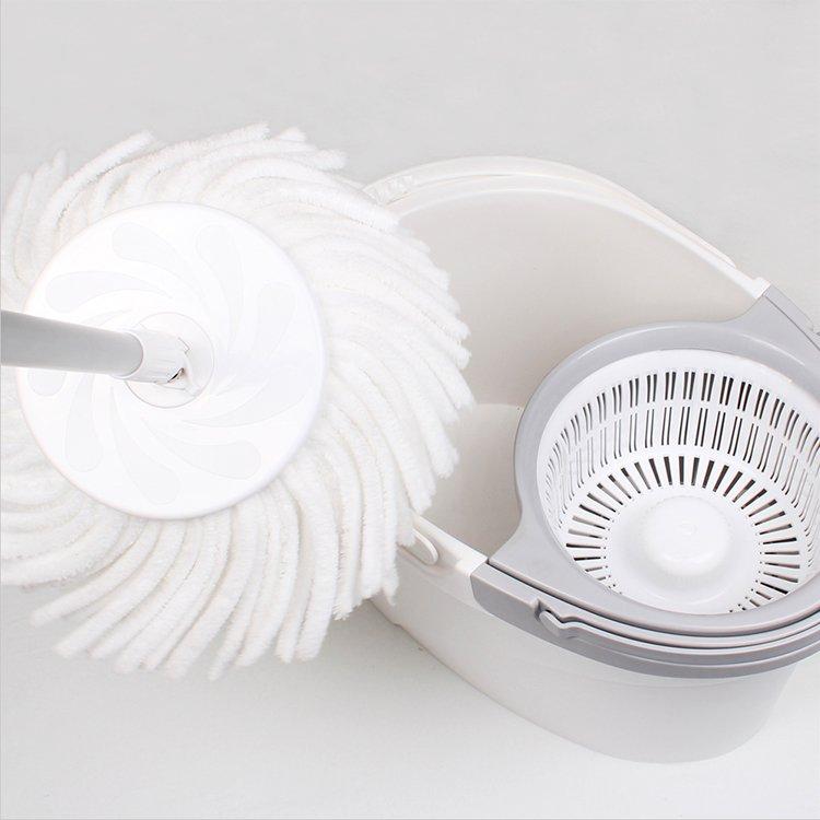 White Magic Pure Spin Mop Hand Press