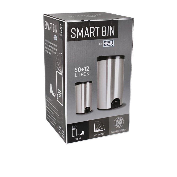 White Magic Smart Bin Combo 50L + 12L