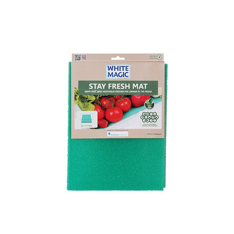 White Magic Stay Fresh Mat Antibacterial 47x30cm