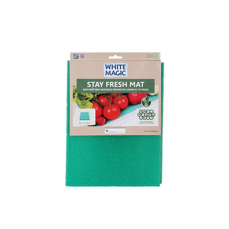 White Magic Stay Fresh Mat Antibacterial 47x30cm (2pcs)
