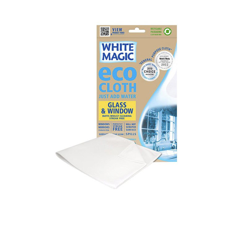White Magic Eco Cloth Glass & Window