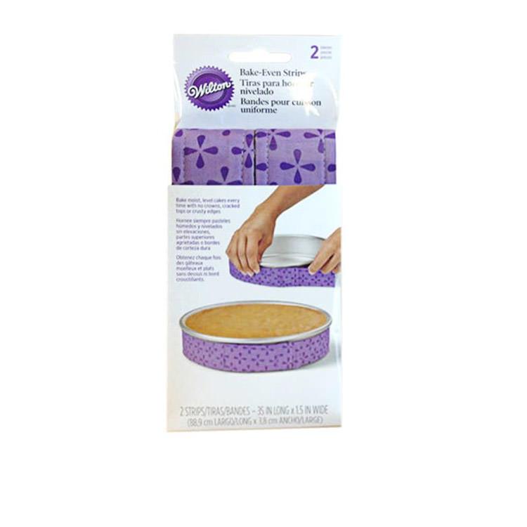 Wilton Bake Even Strips Set 2pc