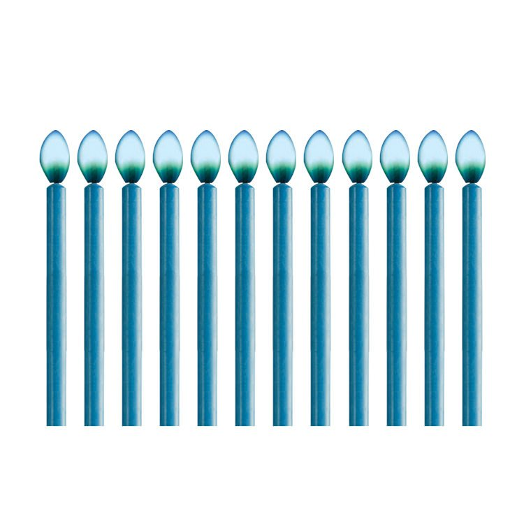 Wilton Blue Colour Flame Candles 12pc