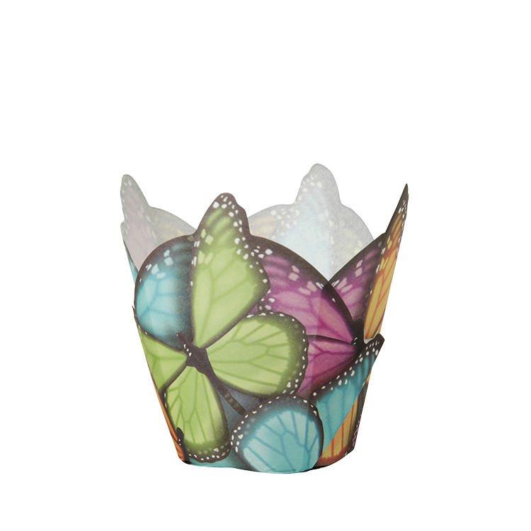 Wilton Butterfly Baking Cups 15pc