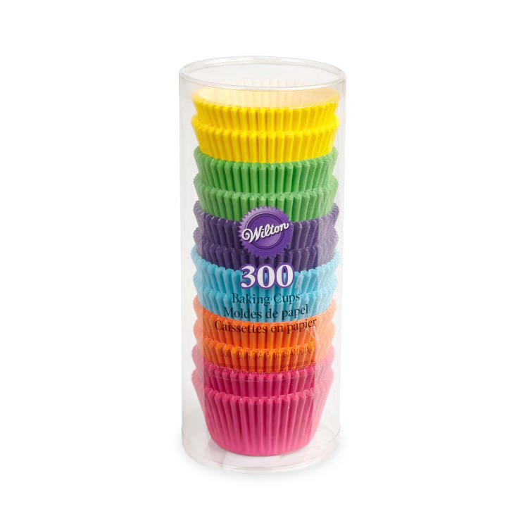Wilton Rainbow Value Pack Baking Cups 300pc