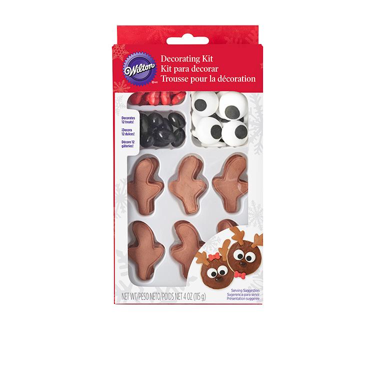 Wilton Reindeer Cupcake Decorating Kit Set of 12
