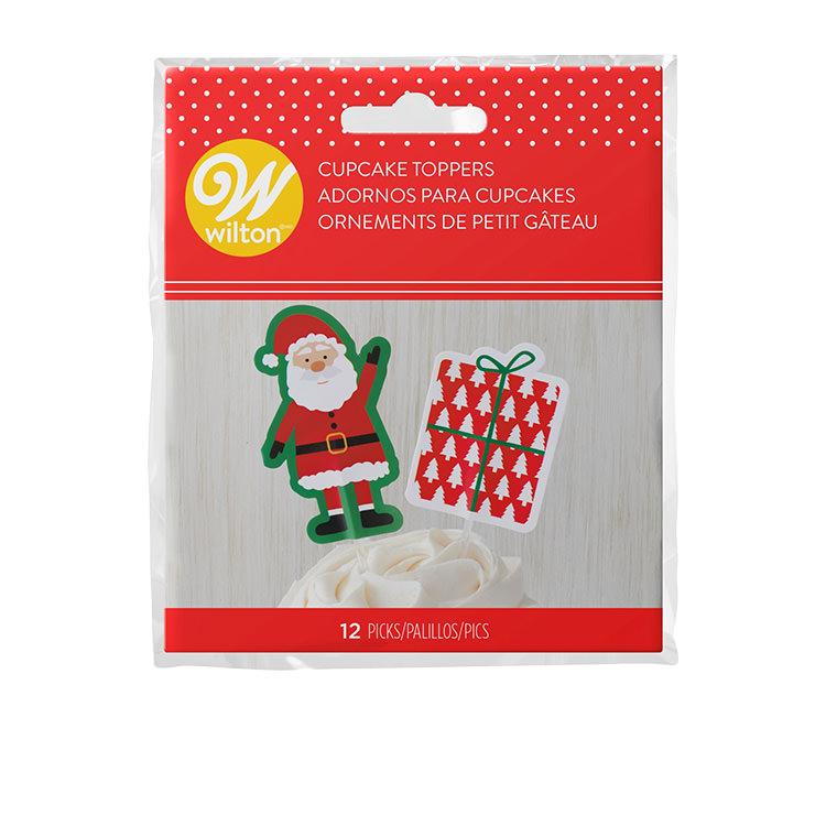 Wilton Santa Claus Treat Pick Set of 12