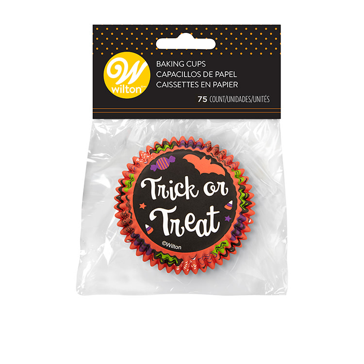 Wilton Trick or Treat Cupcake Liners 75pc