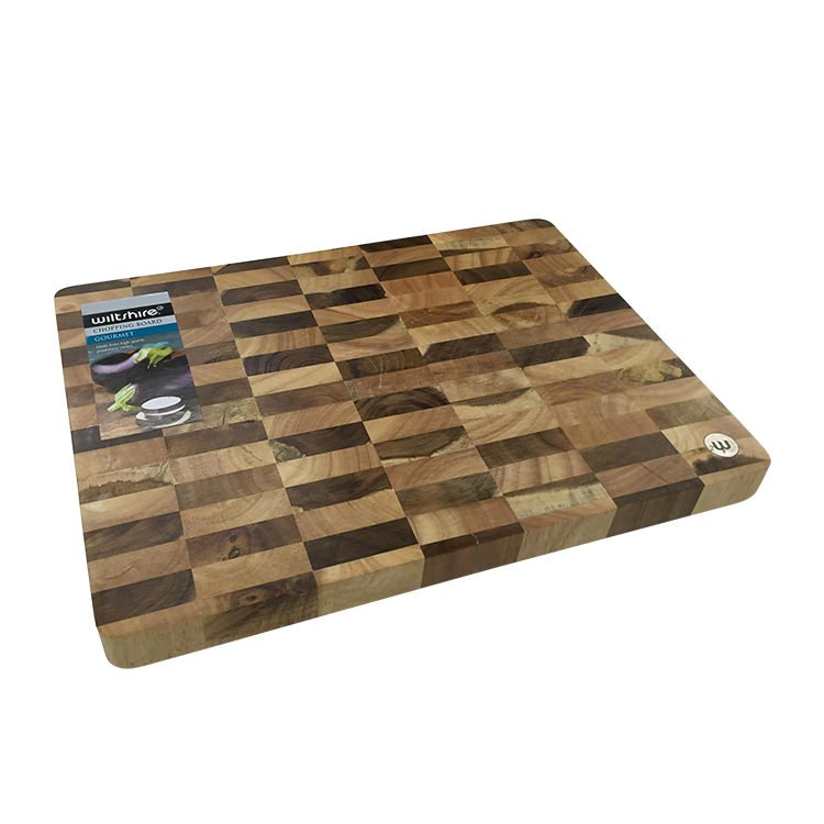 Wiltshire Chequered End Grain Cutting Board