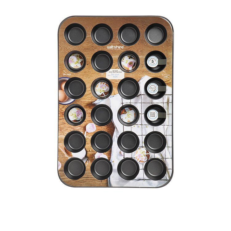 Wiltshire EasyBake Mini Muffin Pan 24 Cup