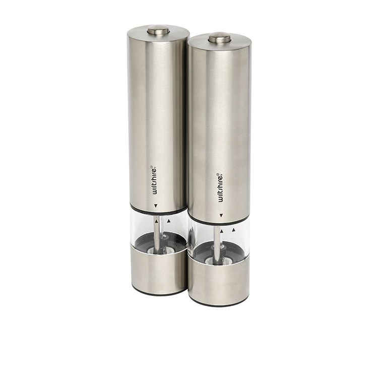 Wiltshire Electric Mill Set 22cm Stainless Steel