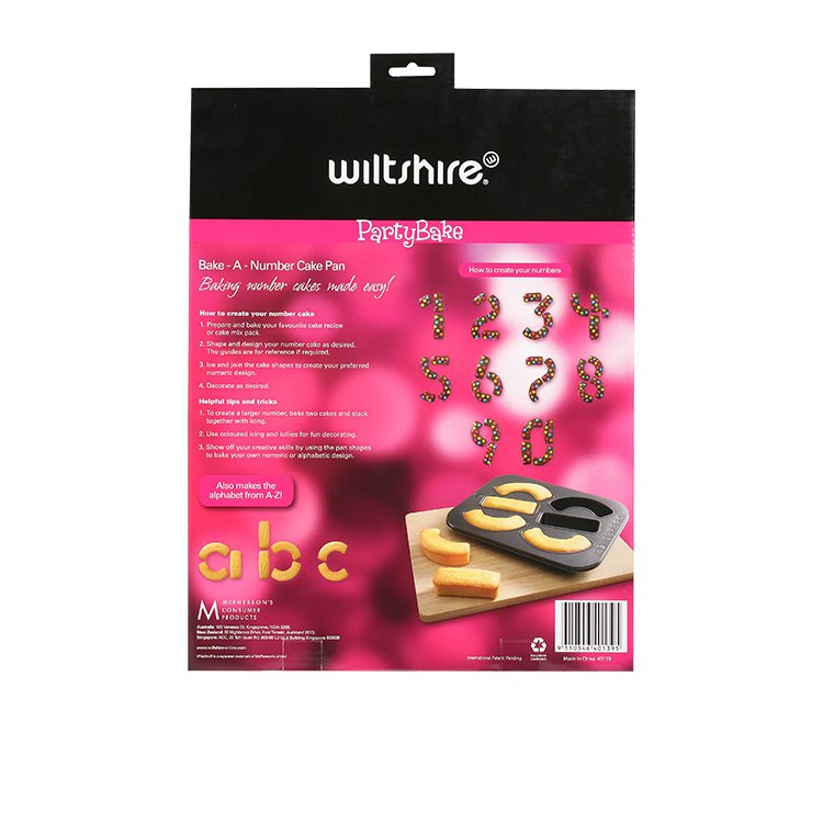 Wiltshire PartyBake Bake-A-Number Cake Pan